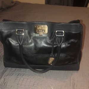 Authentic Cole Haan leather satchel